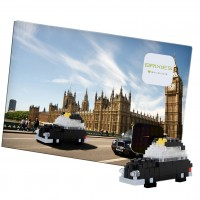 [220.036] Postcard London Taxi - Postal Taxi de Londres