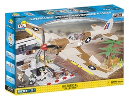 [COBI-5546] Small Army - Supermarine Spitfire - Maintenance Hangar
